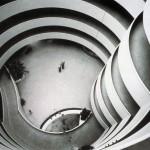 Frank Lloyd Wright, Solomon R_ Guggenheim Museum, New York, 1956, Interior view 2